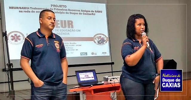 NEUR/SAMU de Duque de Caxias quer levar o ensino de primeiros socorros a rede municipal de educação