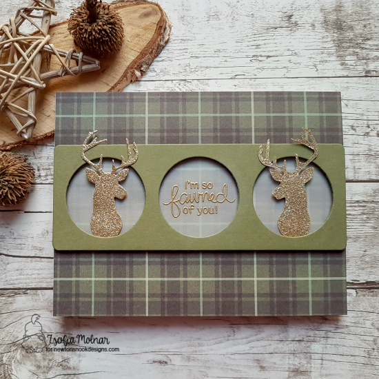 I'm so fawned of you by Zsofia features Splendid Stags and Deer Friend by Newton's Nook Designs; #newtonsnook