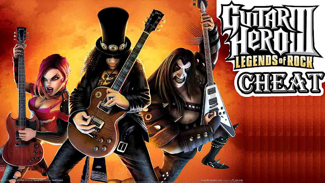 cheat guitar hero 3