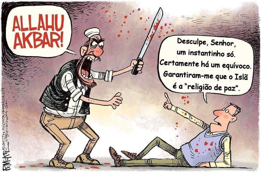 A civilização europeia aparece sem reação válida diante de invasões islâmicas