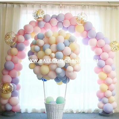 Balon Latex Macaron