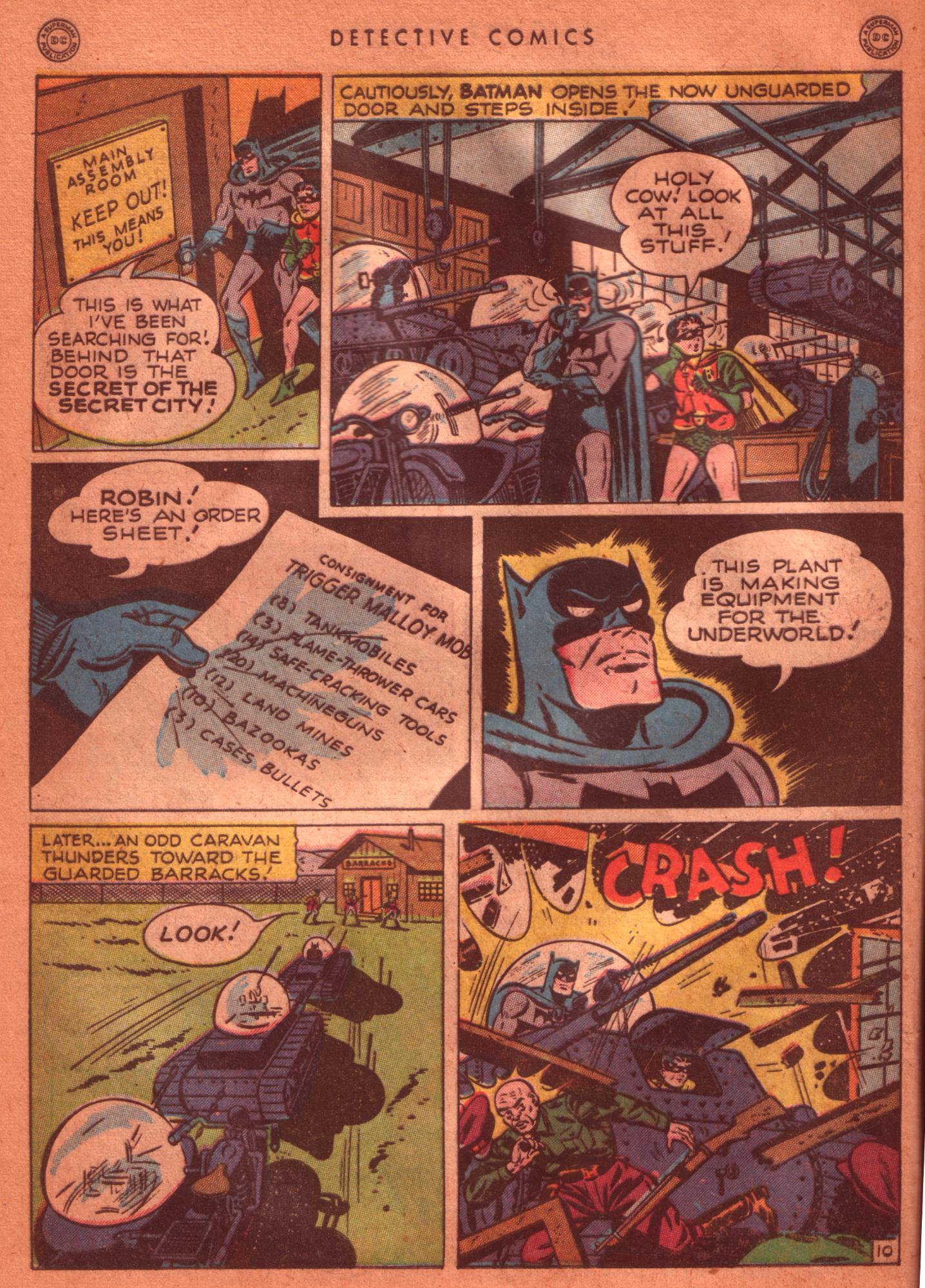 Read online Detective Comics (1937) comic -  Issue #125 - 12