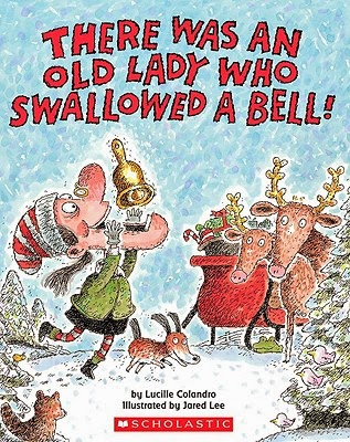 There Was an Old Lady Who Swallowed A Bell and Reindeer Craft!