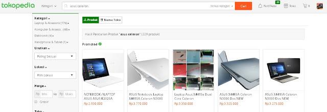 Pasar Laptop Bekas turun