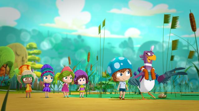 Lilybuds é a nova série de animação original do Discovery Kids