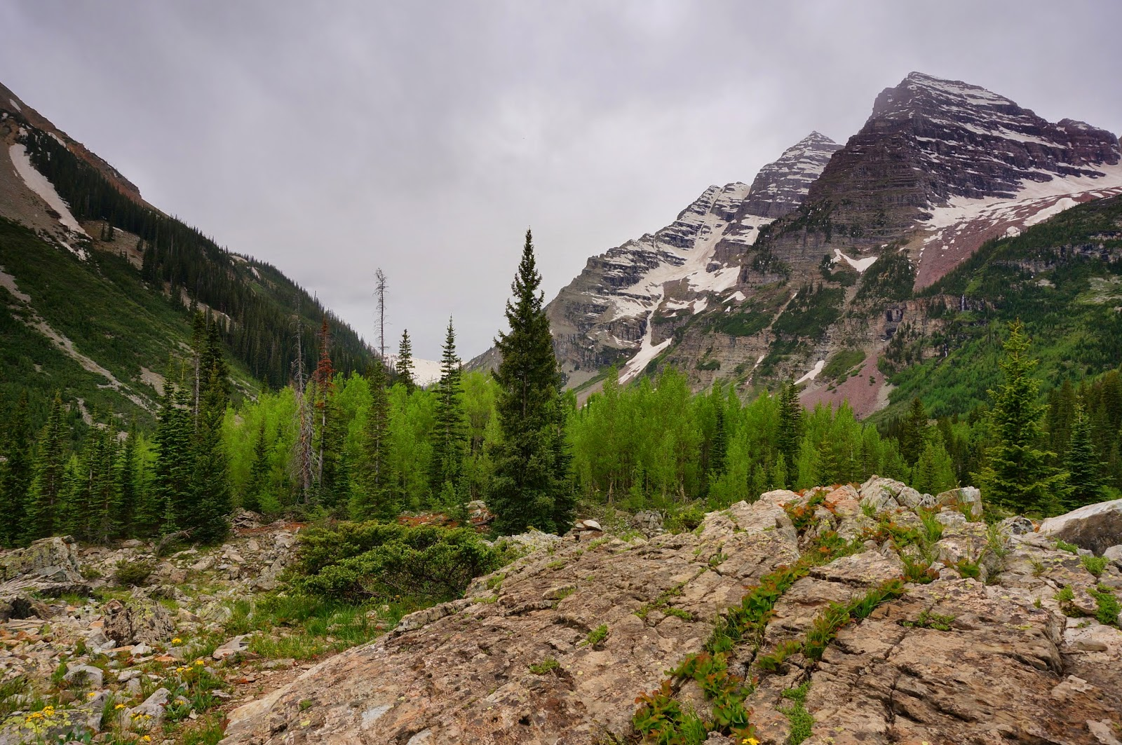 Go Hike Colorado: Maroon Lake & Crater Lake, Maroon Bells