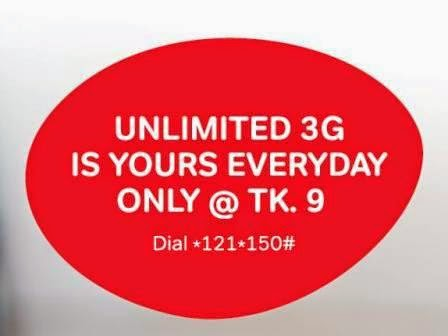 Airtel-daily-Unlimited-3G-9tk