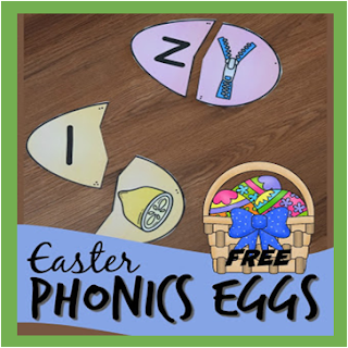 Phonics Easter Eggs