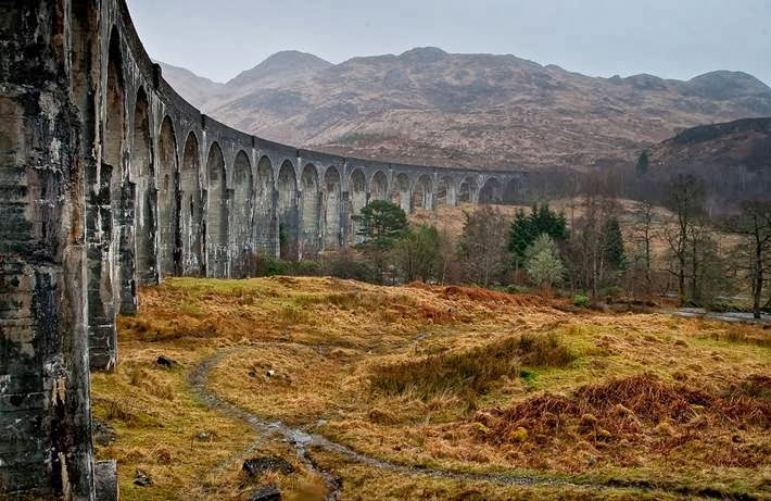 Glenfinnan Viaduct ─ The West Highland Line¸ Scotland
