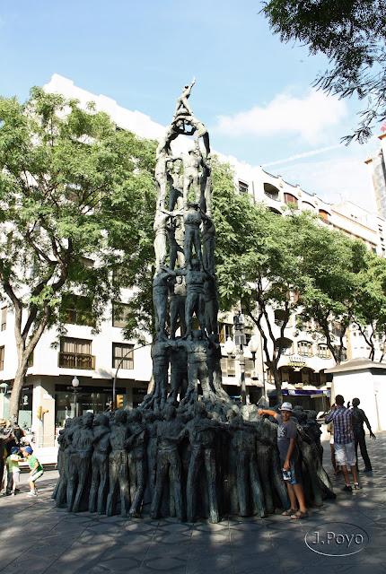Castellers, Rambla Nova, Tarragona