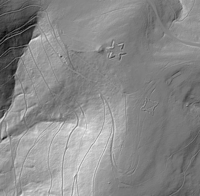 Kniebis (source LIDAR - Geoportal BW)