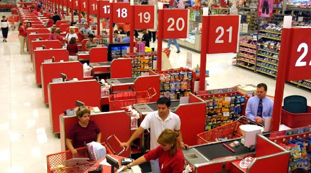 Como é a loja Target em Miami?