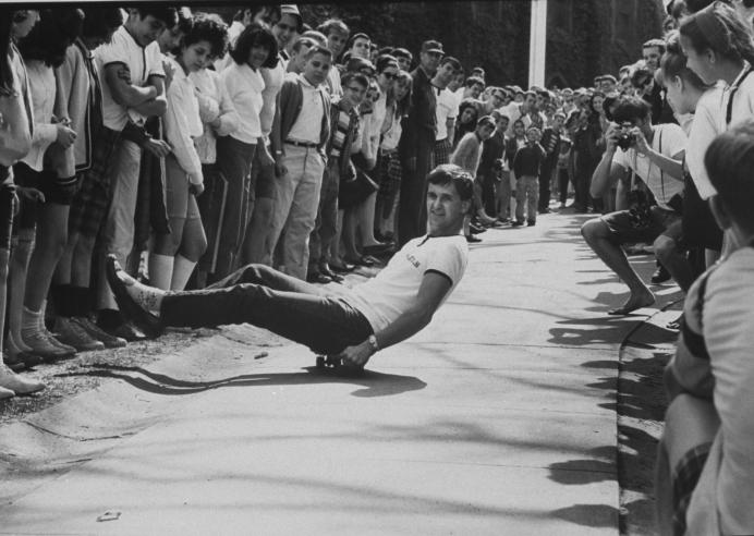 Vintage Skateboarding Photographs Vintage Everyday