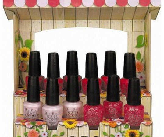 Nice Stems! A Summer OPI collection