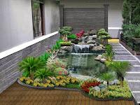 Desain Taman Dan Kolam Ikan