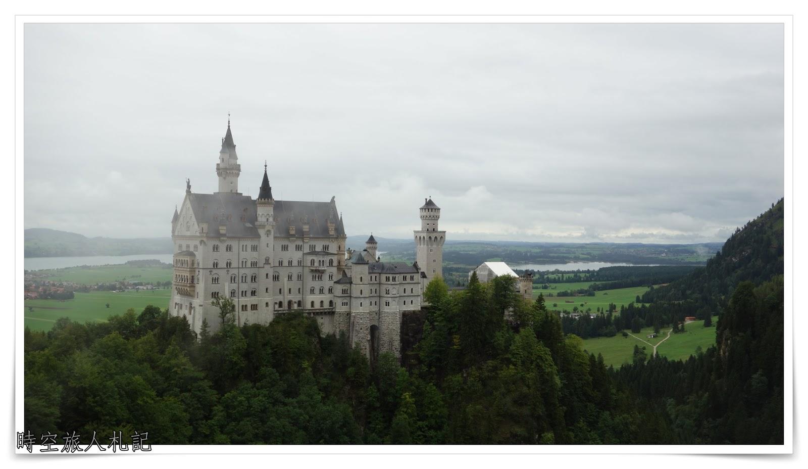 新天鵝堡Neuschwansteinstraße與高天鵝堡Schloss Hohenschwangau: 瘋狂國王路德維希的童話世界