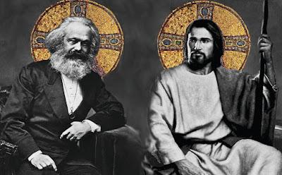 Jesus y Marx.