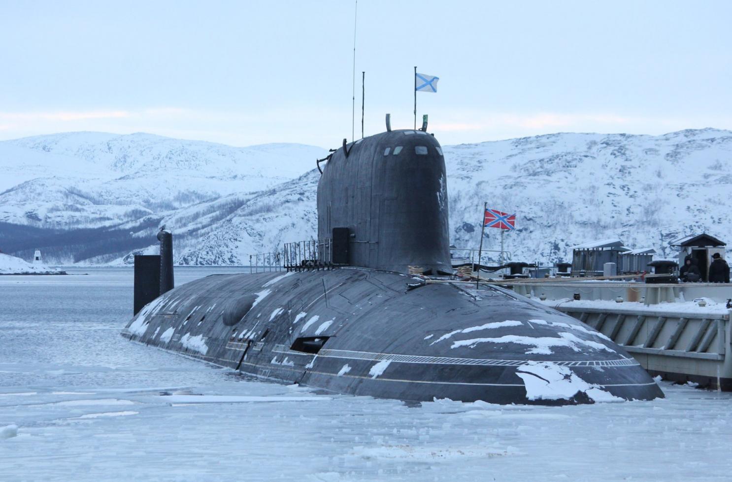 Resultado de imagen de Inmensos submarinos nucleares