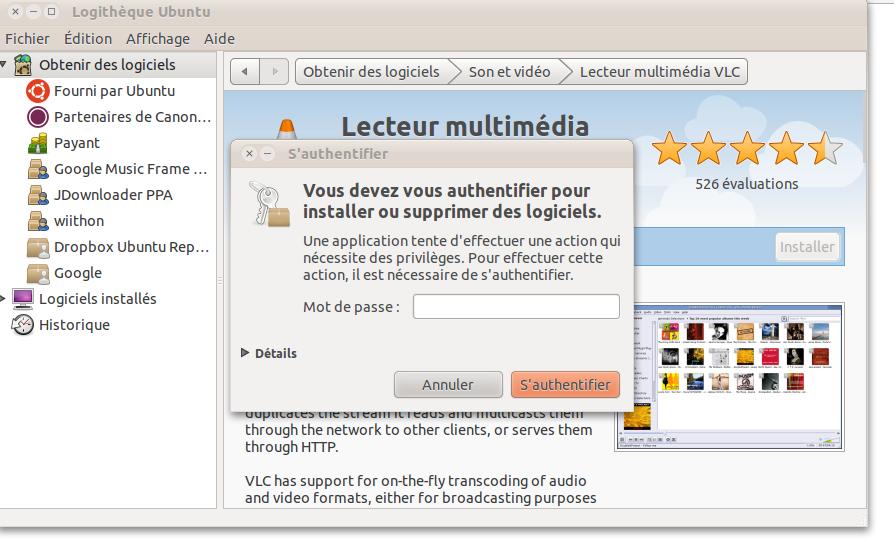 solutions et d pannage informatique du linuxien comment trouver un logiciel sous ubuntu. Black Bedroom Furniture Sets. Home Design Ideas