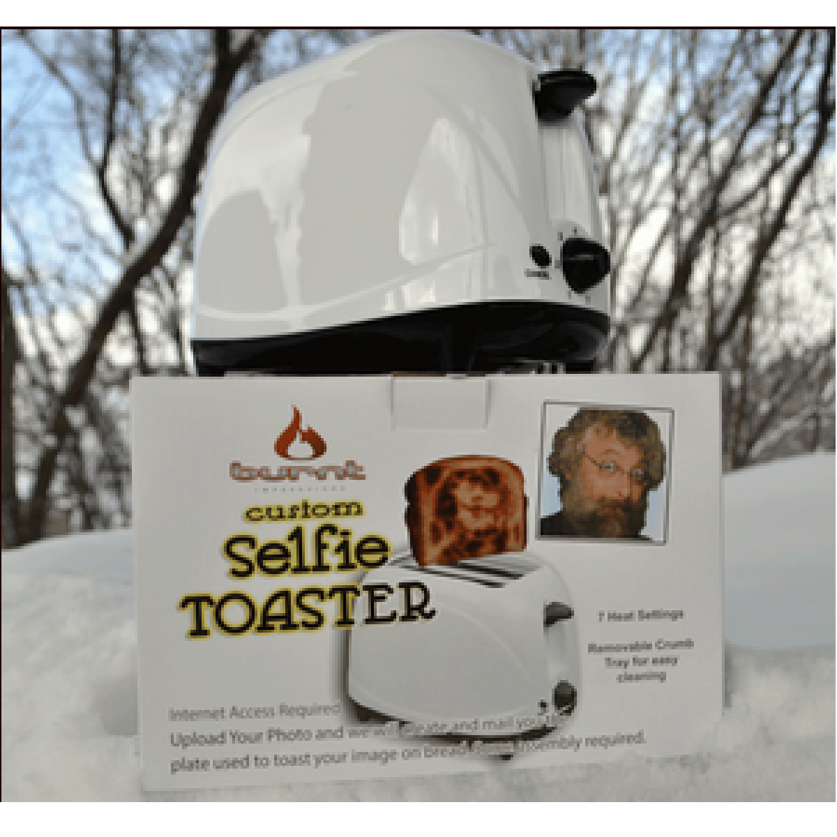 Appareil Selfie Toaster grille pain