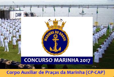 Apostila concurso Marinha auxiliar praças CAP 2017