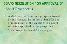 Board-Resolution-Approval-Self-Prospectus