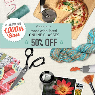 craftsy 50% off classes