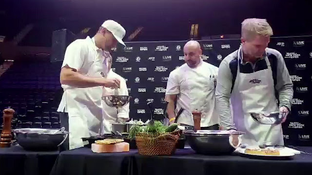 Leyendas del tenis como cocineros en la apertura del New York Open