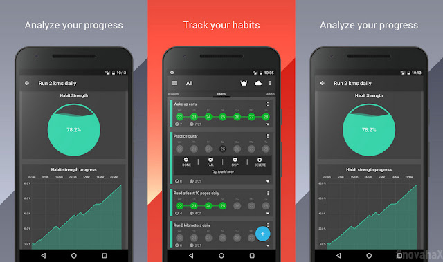 Habithub habit and goal tracker premium apk download