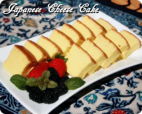 Resep Japanese Cotton Cheese Cake