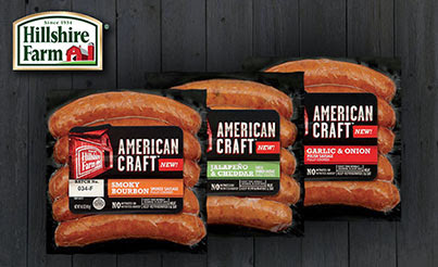 My Review of Hillshire Farm American Craft Links.