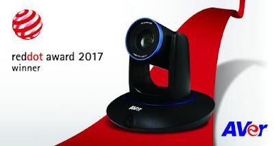 Thiết bị hội nghị truyền hình AVer PTC500 đã giành chiến thắng tại Reddot Awards 2017