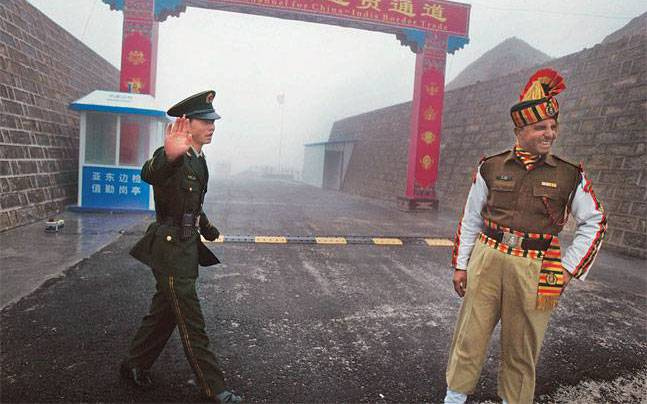 Indo China Face Off Border Dispute