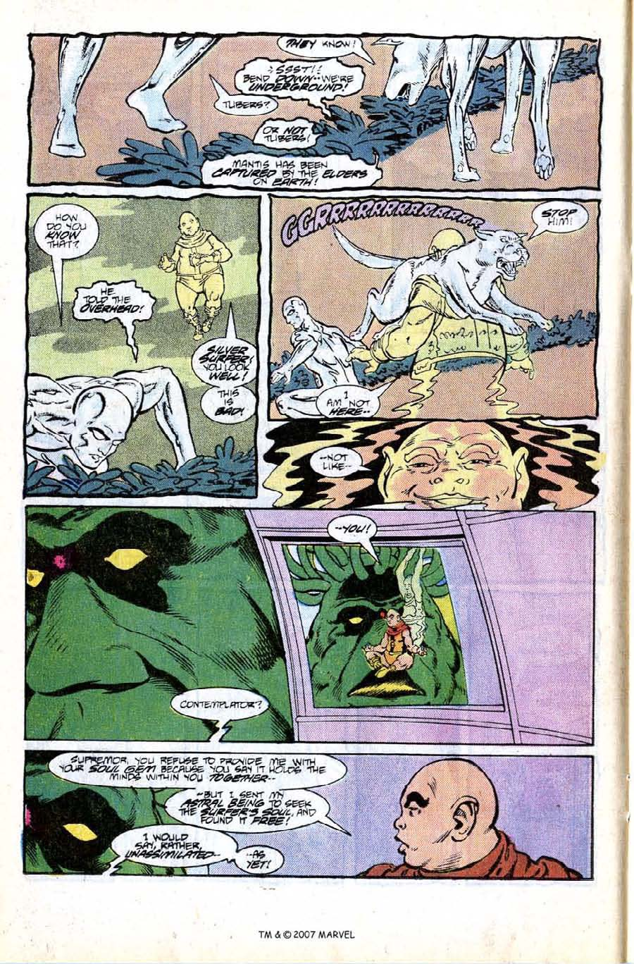 Read online Silver Surfer (1987) comic -  Issue #8 - 12