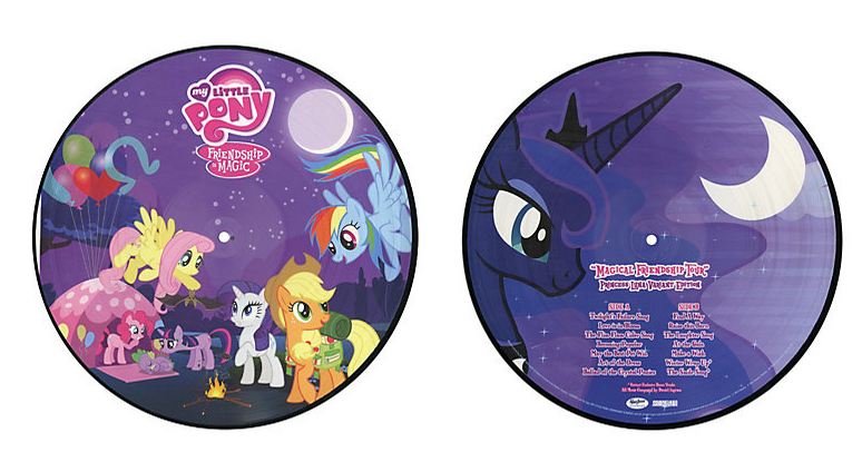 Equestria Daily Mlp Stuff Another Vinyl Record My