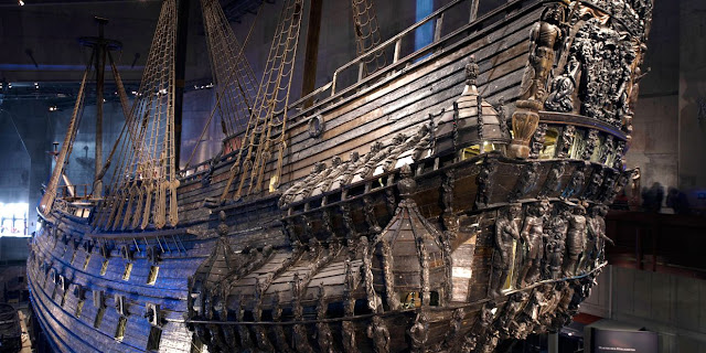 The Vasa is the only well-preserved 17th-century ship in the world