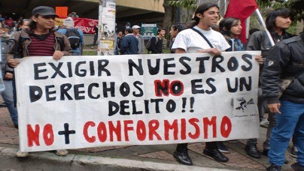 ONU pide a Gobierno colombiano respetar derecho a la protesta