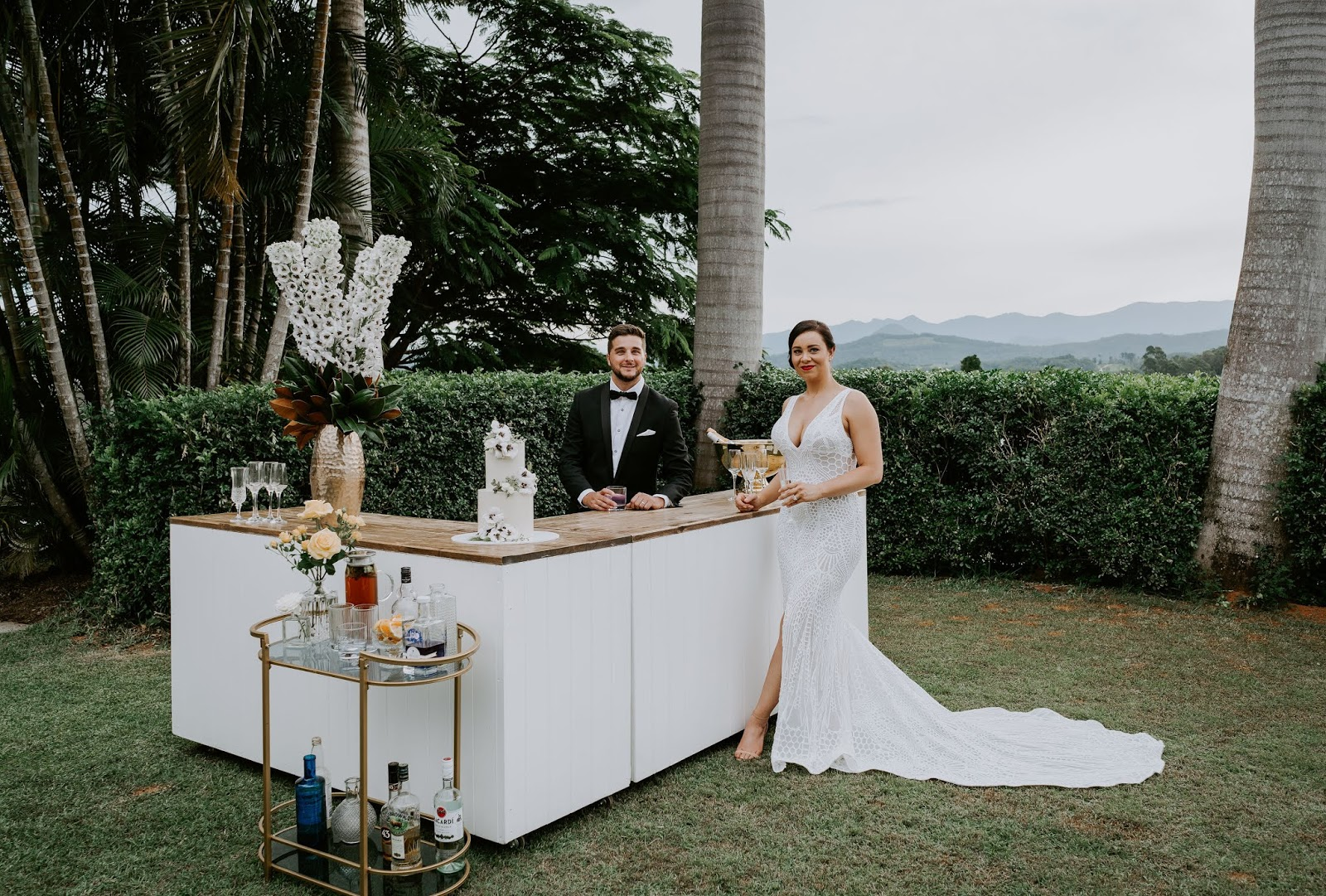 STYLED: THE SKY GARDEN | HAMPTONS STYLED WEDDING INSPIRATION NORTHERN NSW