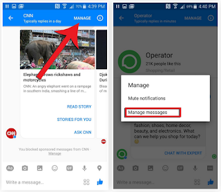 Cara Blokir Spam dari Facebook Messenger Bots
