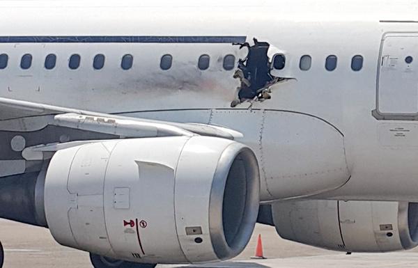 حالة من التوتر بعد مصارحة قائد طائرة للركاب احتمال توقف المحركات