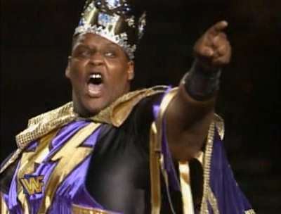 WWF / WWE - SUMMERSLAM 1995 - King Mabel challenged Big Daddy Cool Diesel for the WWF Championship