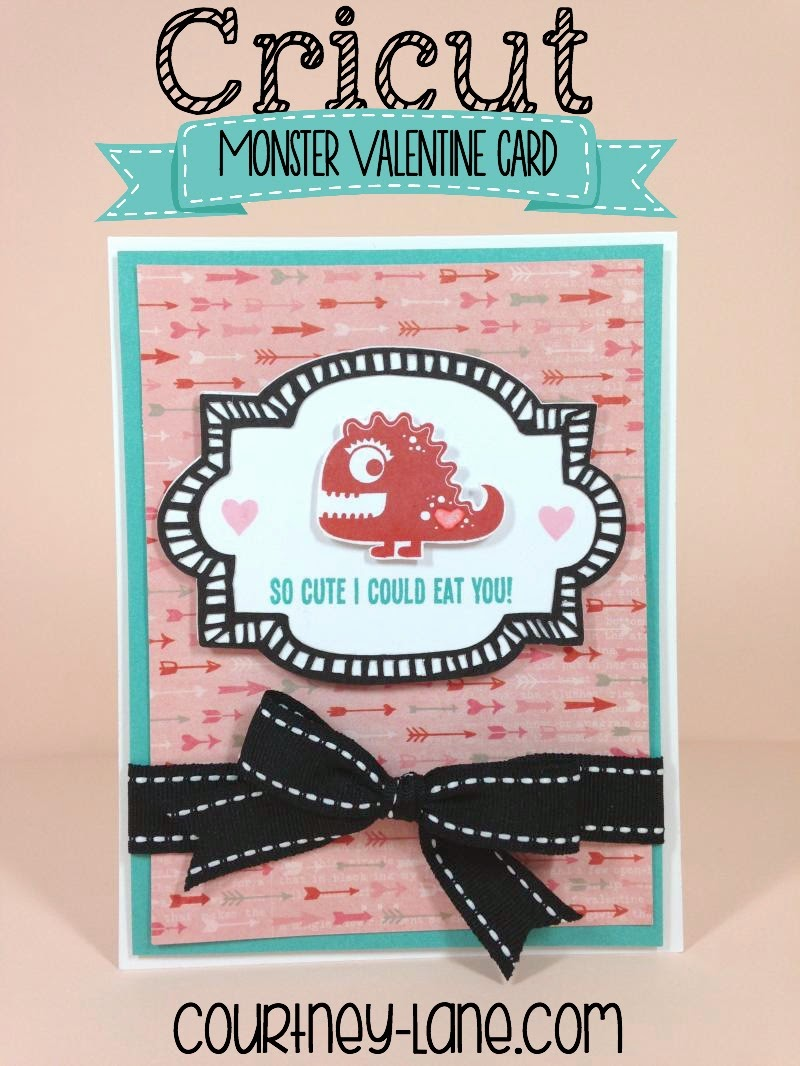 So Cute I Could Eat You Valentine card