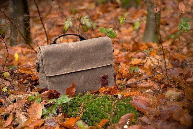 NutSac Mag-Satch na leśnych listkach ;)