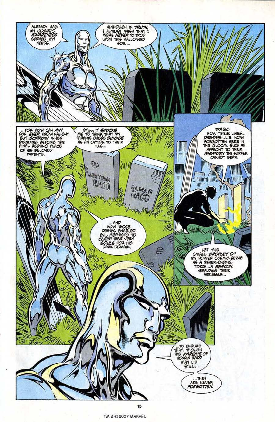 Silver Surfer (1987) Issue #101 #109 - English 17