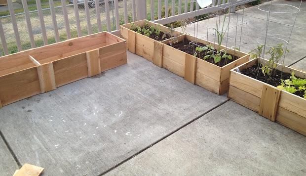 Make Homemade Planter Box Under 30