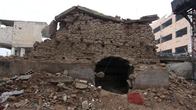 قطع أثرية تختفي من معبد يهودي بضواحي دمشق وتظهر في إسرائيل.؟