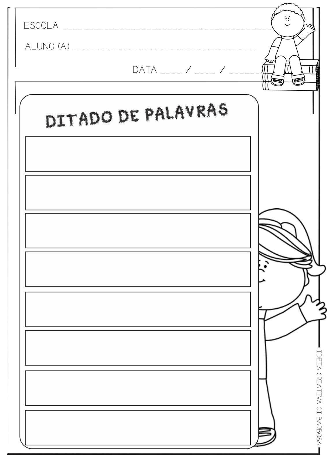 Lipitipi Atividades E Projetos Fundamental I Ficha Ilustrada Para