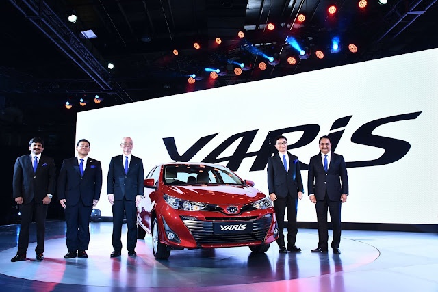 Toyota enters the Indian B-High segment with its world class sedan – Yaris