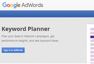 Cara Menggunakan Tools Google Keyword Planner Gratis Untuk SEO Blog