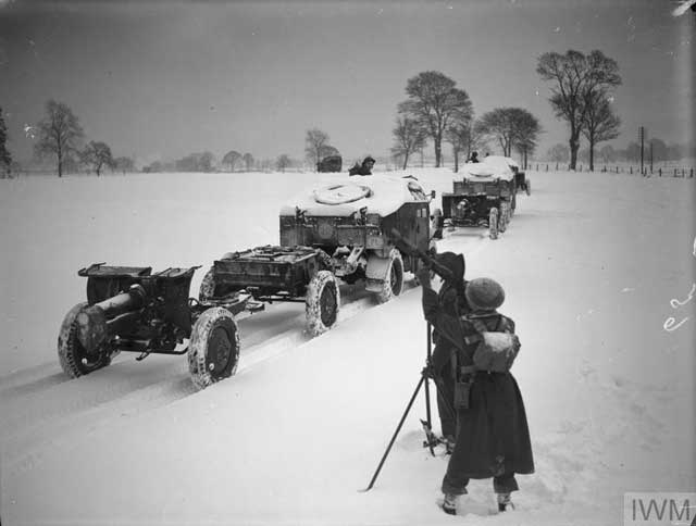 Polish troops on exercises in Great Britain, 23 January 1942 worldwartwo.filminspector.com